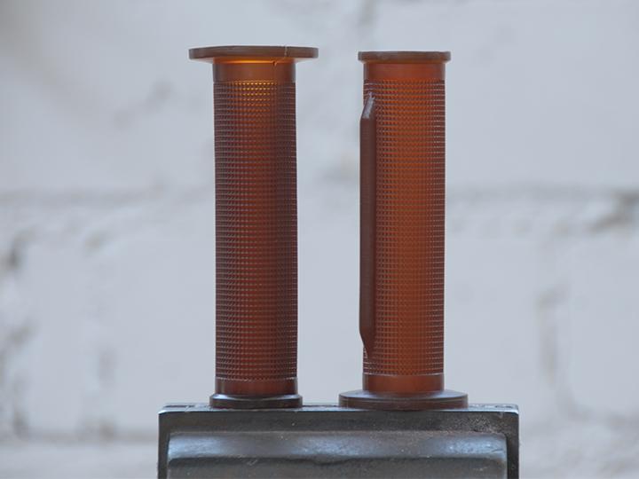 Griffgummi Zylinder Braun
