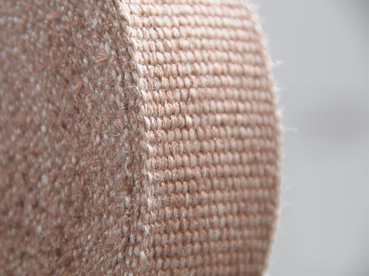 Hitzeschutzband Bronze