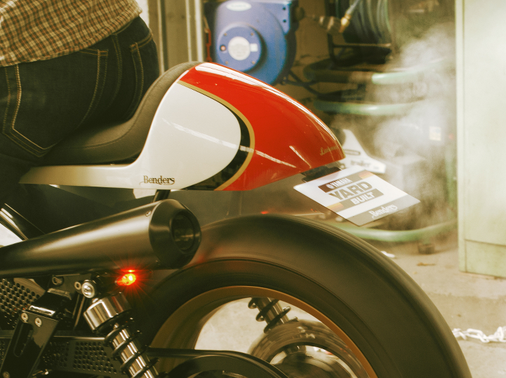 XV 950 BOLTAGE Cafe Racer Seat