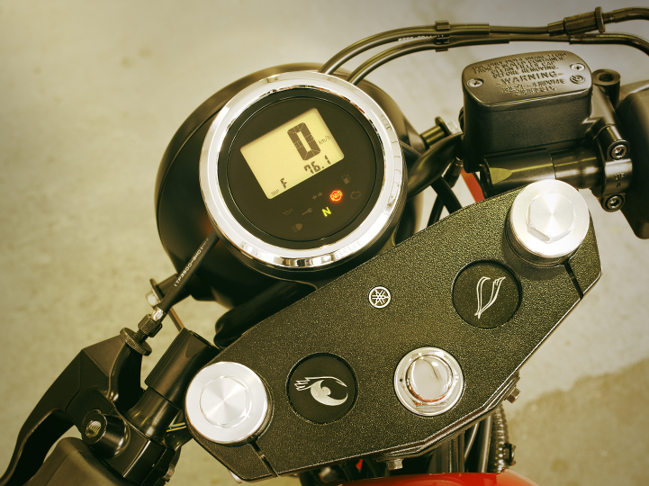 XV 950 Speedometer Mount